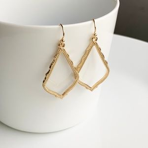 Jewelry - NEW Small Frame Earrings (gold)